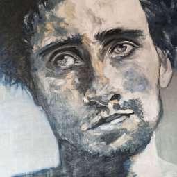 Olieverfschilderij Matthias Schoenaerts