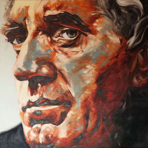 Olieverfschilderij Jan Decleir