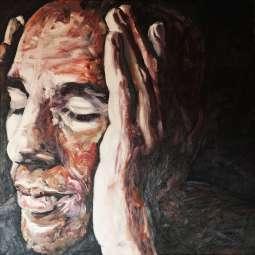 Olieverfschilderij Abdelkader Benali