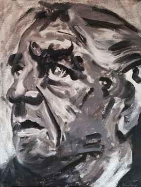 Olieverfschilderij Jeroen Brouwers