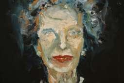 Olieverfschilderij Margaret Thatcher
