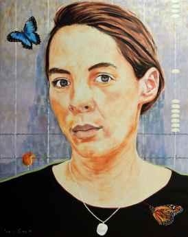 Rebecca Carron, Ontembaar, olie op doek, 150x120cm, 2016
