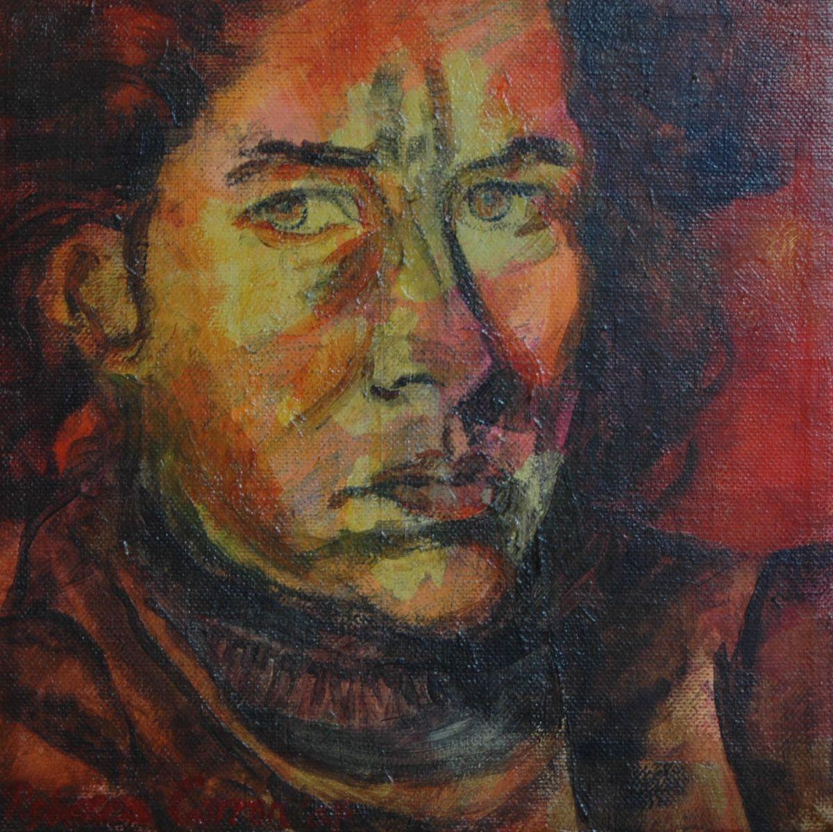 Oieversfschilderij zelfportret