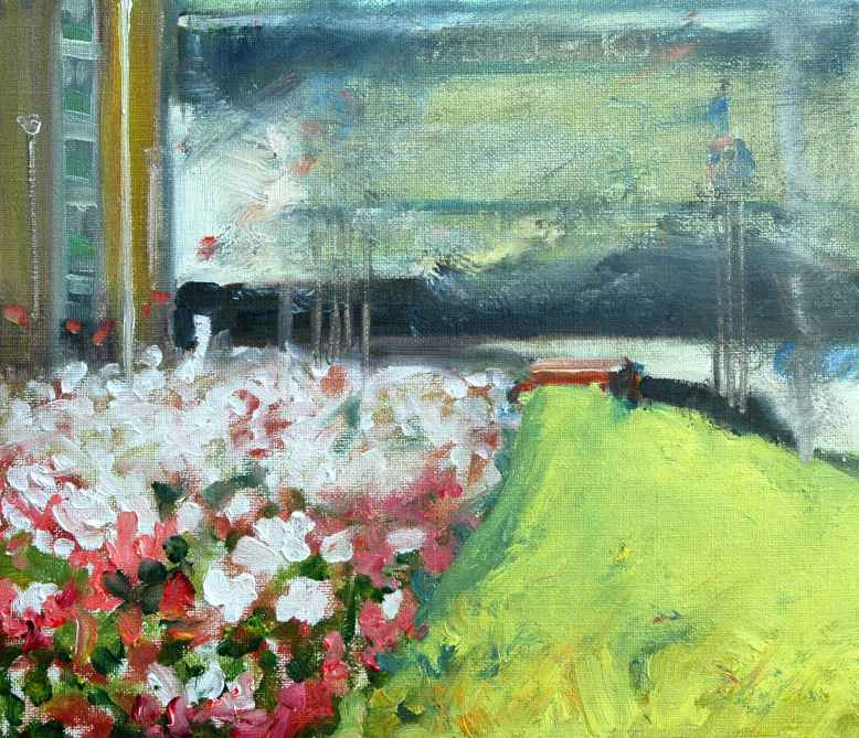 Olieverfschilderij Opkomende zomerstorm