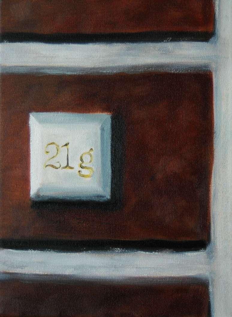 Olieverfschilderij - Impressie van Gent_06