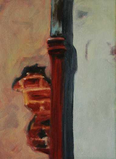 Olieverfschilderij - Impressie van Gent_07