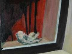 Olieverfschilderij Impressie van Gent_08