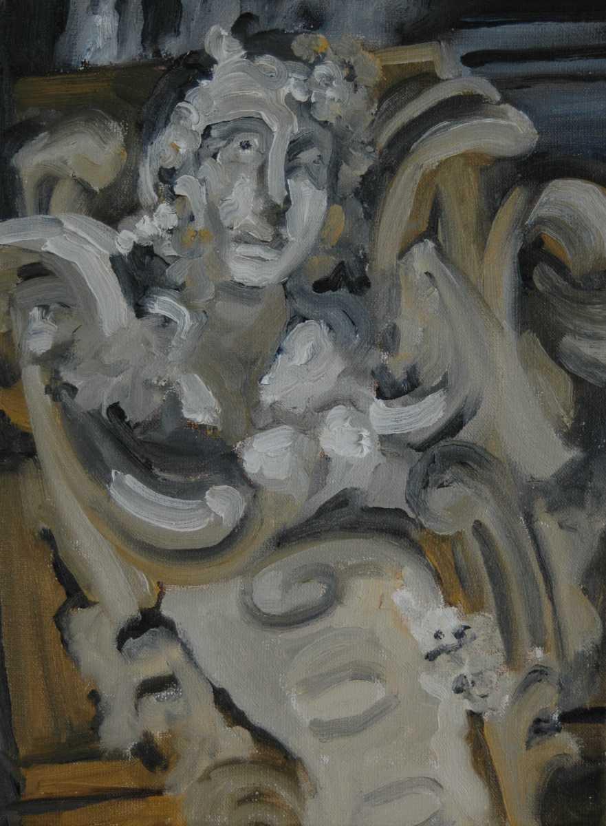 Olieverfschilderij Buste 1 Hotel Falligan