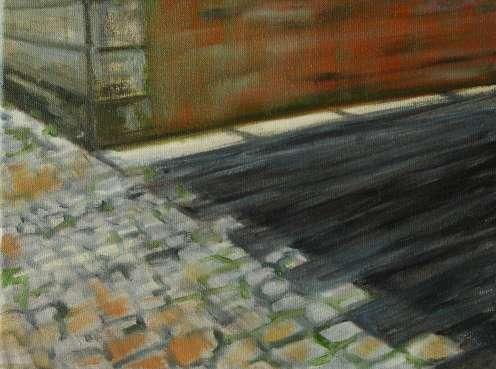 Olieverfschilderij Impressie van Gent_04