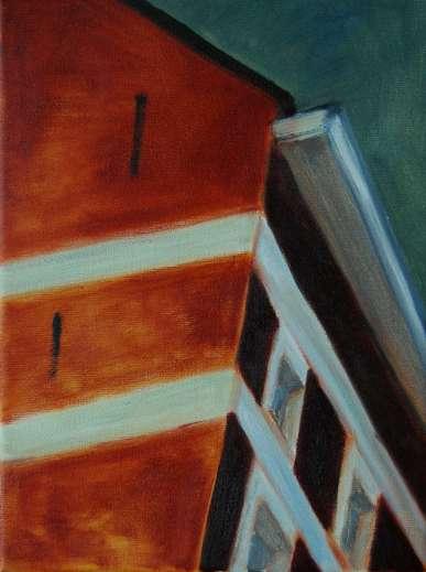Olieverfschilderij - Impressie van Gent_05