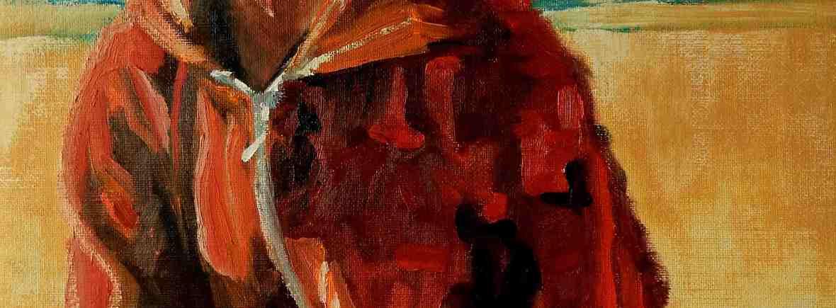 Rebecca Carron, olieverfschilderij in opdracht