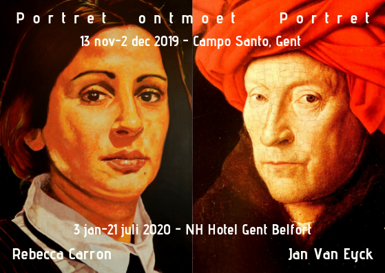 Aankondiging Portret ontmoet Portret-digitaal